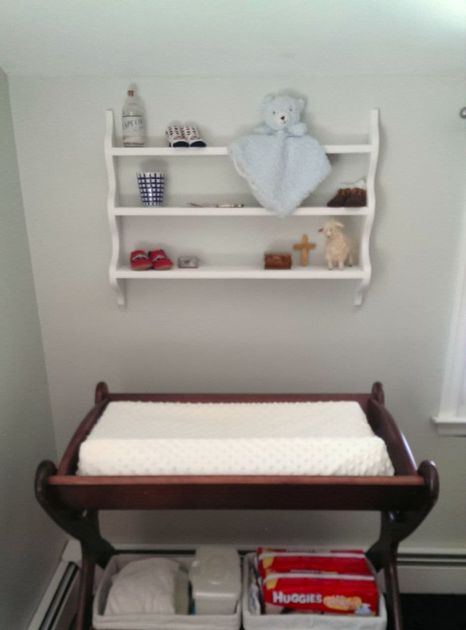 An Antique Shelf Facelift